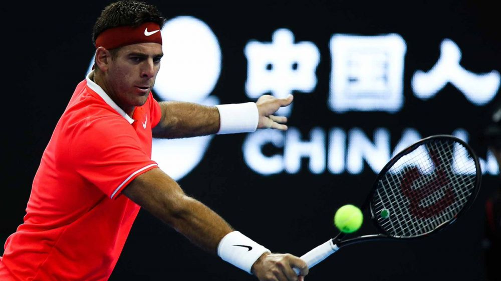 Del Potro into China Open final after Fognini withdraws