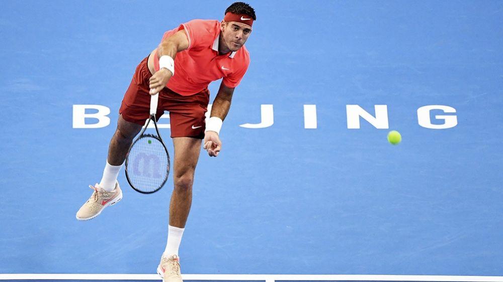 Del Potro tramitó su pase a las semifinales — Beijing