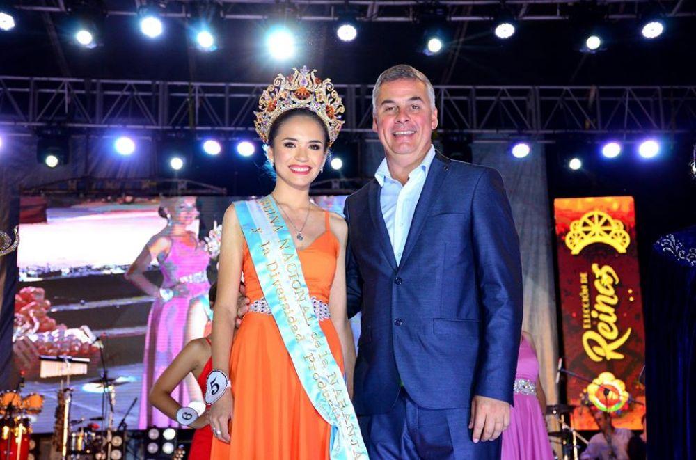 Bella Vista consagró a las nuevas reinas de la Fiesta Nacional de la Naranja y al mejor embalador - Diario La República